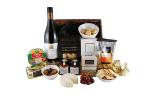 Cheese and Wine in Basket NB 653