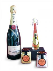 Moet Champagne & Truffle Essentials